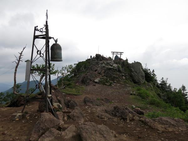 男体山へ登山