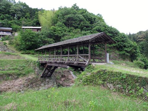 内子町の屋根付橋2つ