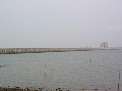 諫早湾干拓堤防
