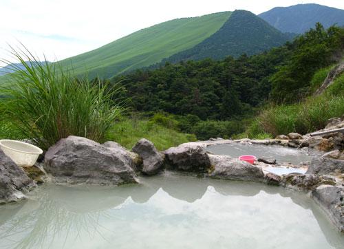 別府の秘湯 鍋山の湯(野湯)