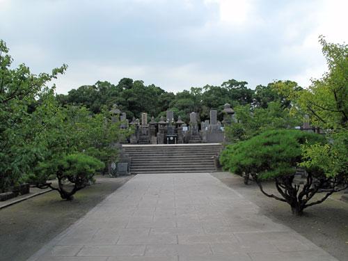 南洲墓地と南洲神社